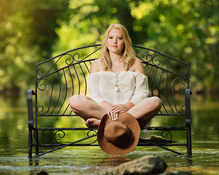 Hudson's Photography Location Only Senior Session